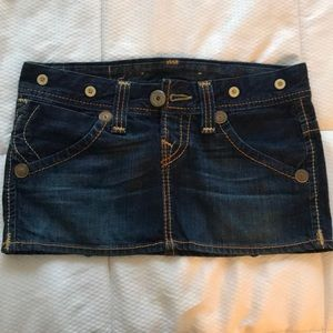 True Religion Brand Denim Skirt size 26